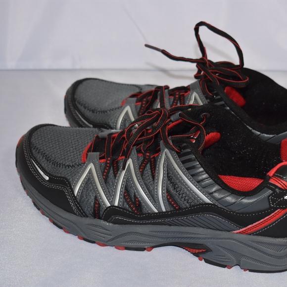 569e2beee8be13 Fila Other - Men s Fila TKO Trail Shoe Black Gray Red 12